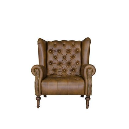 Alexander And James Theo Armchair In Leather