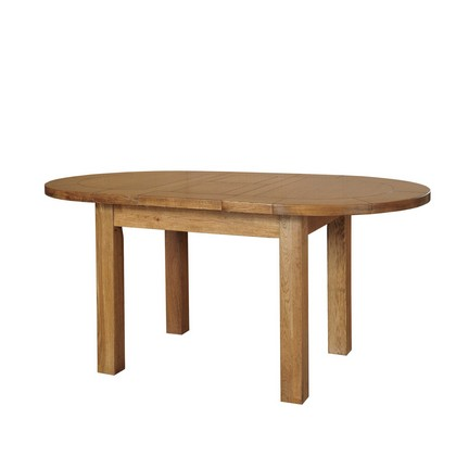 Cookes Collection Barrington Small D End Dining Table