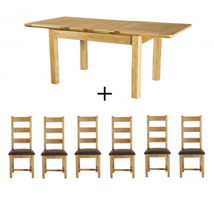 Cookes Collection Barrington Dining Table And 6 Chairs