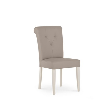 Cookes Collection Geneva Bonded Faux Leather Dining Chair