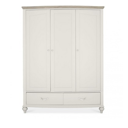 Cookes Collection Geneva Triple Wardrobe