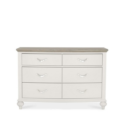 Cookes Collection Geneva 6 Drawer Wide Chest