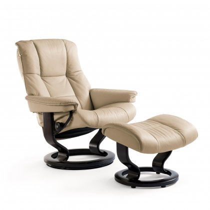 Stressless Mayfair Medium Chair And Stool