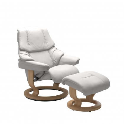 Stressless Reno Small Chair And Stool