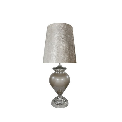 Large Taupe Table Lamp