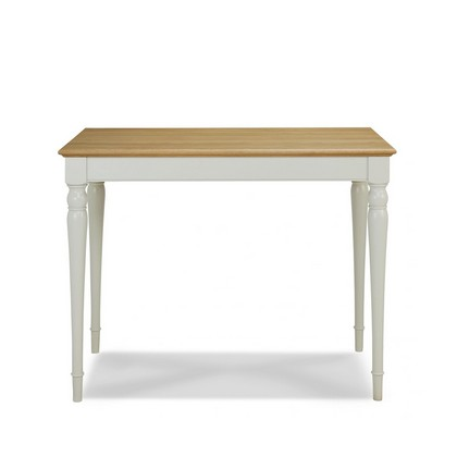 Cookes Collection Camden Soft Grey And Pale Oak Bar Table