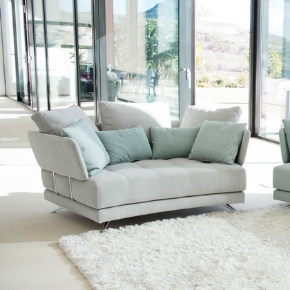 Fama Pacific Curved 2 Seater Sofa