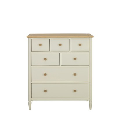Ercol Piacenza 7 Drawer Tall Wide Chest