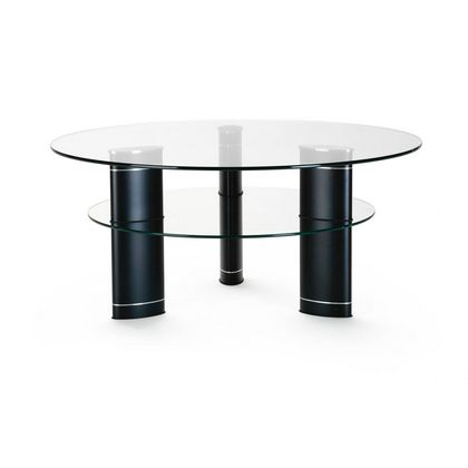 Ekornes Jazz Round Glass Table