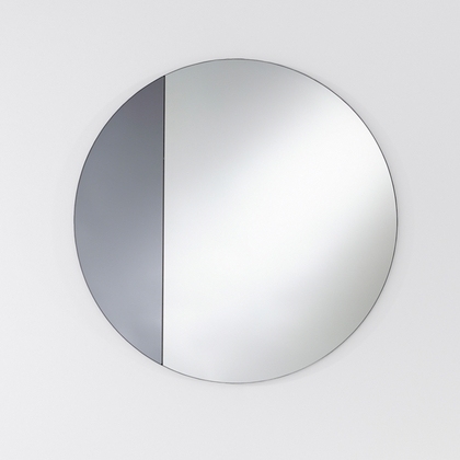 Deknudt Cord Grey Mirror