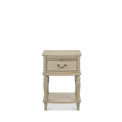 Cookes Collection Renoir 1 Drawer Bedside Table