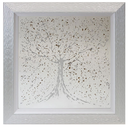 Mirror Silver Gold Tree
