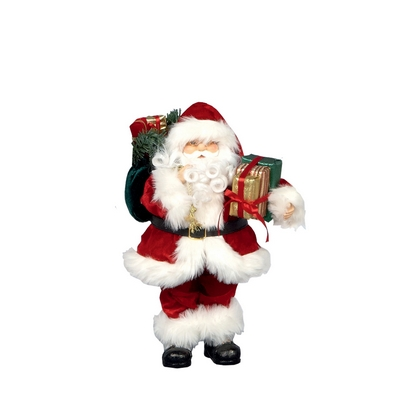 Traditional Standing Santa 40cm