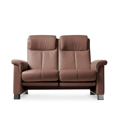 Stressless Breeze 2 Seater Sofa with 2 Leg Comforts