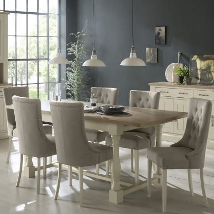 Cookes Collection Sloane Dining Table, 4 Chairs and 2 Armchairs