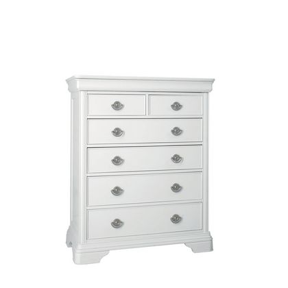 Cookes Collection Chateau Blanc 2 Over 4 Drawer Chest