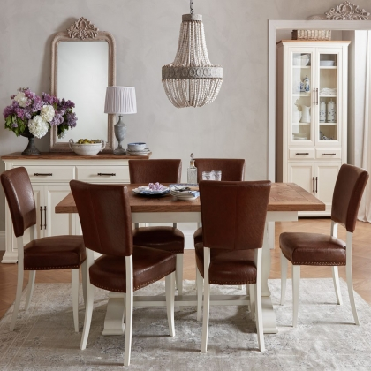 Cookes Collection Nantes Dining Table and 6 Chairs