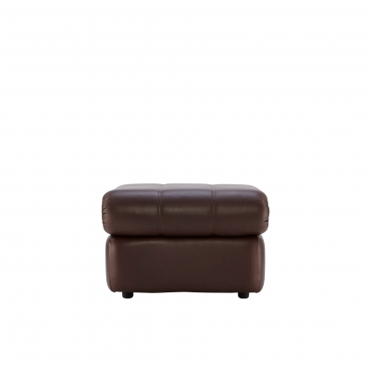 G Plan Chloe Footstool In Leather