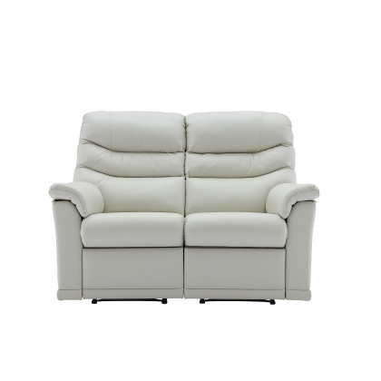 G Plan Malvern 2 Seater Double Power Recliner Sofa In Leather