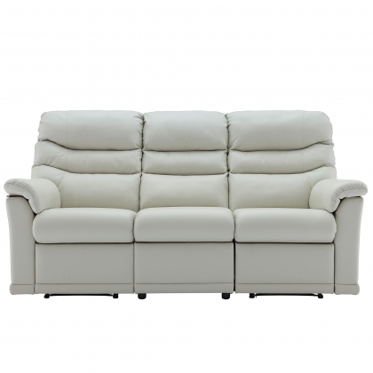 G Plan Malvern 3 Seater Double Power Recliner Sofa In Leather
