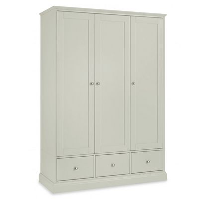 Cookes Collection Ashley Cotton Triple Wardrobe