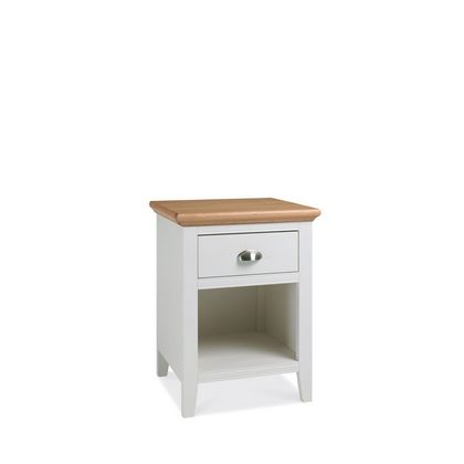 Cookes Collection Camden Two Tone 1 Drawer Nightstand