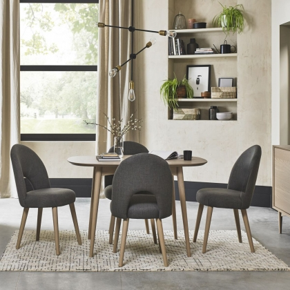 Cookes Collection Fino Scandi Oak Dining Table and 4 Chairs