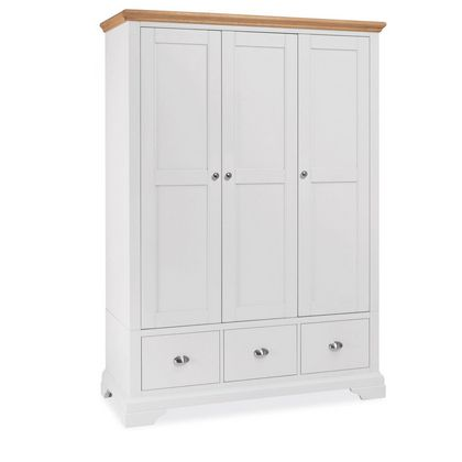 Cookes Collection Camden Two Tone Triple Wardrobe