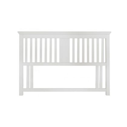 Cookes Collection Camden White Headboard Double