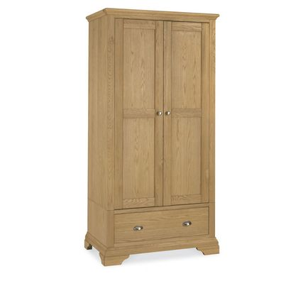 Cookes Collection Camden Oak Double Wardrobe