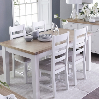 Cookes Collection Thames White Dining