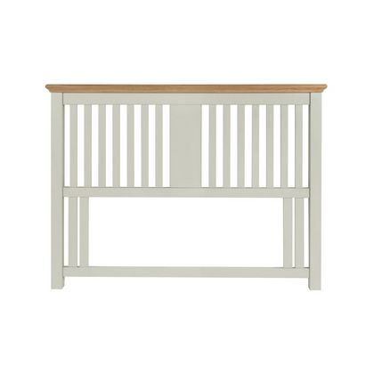 Cookes Collection Camden Soft Grey and Pale Oak Headboard King