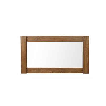 Halo Montana Large Mirror In Nibbed Oak