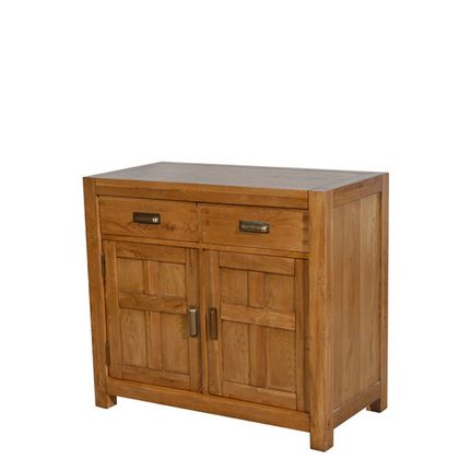 Halo Montana 2 Door Sideboard In Nibbed Oak