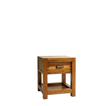 Halo Montana Lamp Table In Nibbed Oak