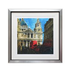 Susan Brown Ltd Edition St Paul's Blue