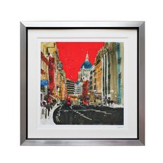 Susan Brown Ltd Edition St Paul's Red