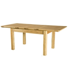Cookes Collection Nobel 4 Foot 6 Inch Extending Table (2 Leaf)