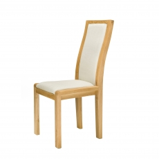 Ercol Bosco Cream Padded Back Dining Chair
