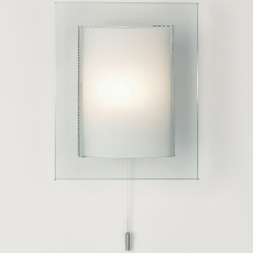 Modern Glass Switch Wall Bracket