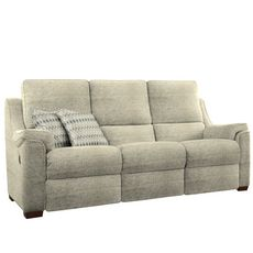 Parker Knoll Albany 3 Seater Manual Recliner Sofa