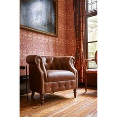Alexander And James Jude Chair In Leather