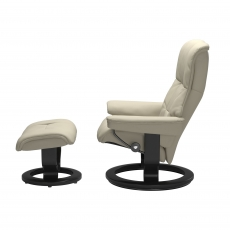 Stressless Mayfair Small Chair & Stool Classic Base