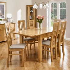 Cookes Collection Nobel Dining Table And 6 Chairs