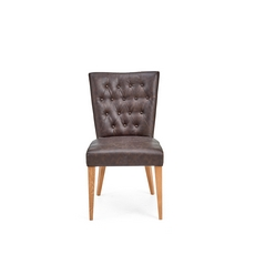 Cookes Collection Montreal Faux Leather Dining Chair