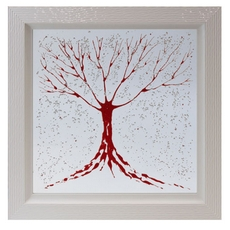 Mirror Red Tree