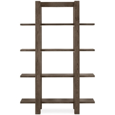 Cookes Collection Trinity Dark Oak Open Display Unit