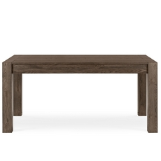 Cookes Collection Trinity Dark Oak Medium Extending Dining Table