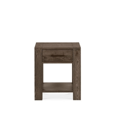 Cookes Collection Trinity Dark Oak Lamp Table