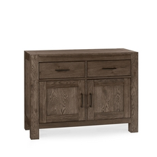 Cookes Collection Trinity Dark Oak Narrow Sideboard